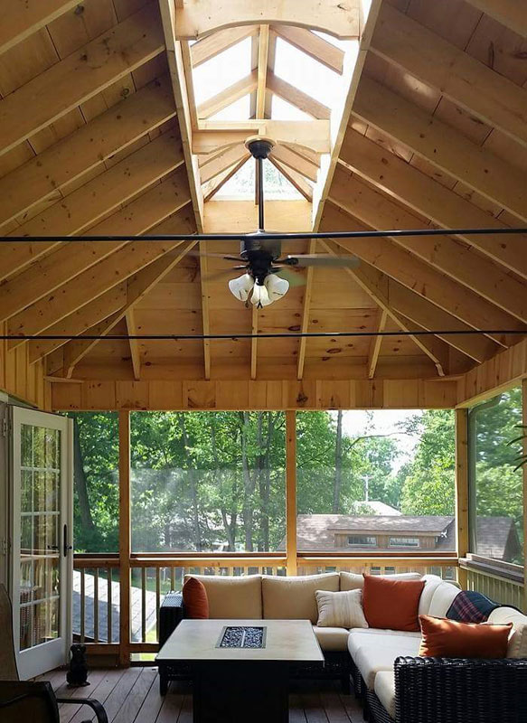 Cochranville screened in porch addition